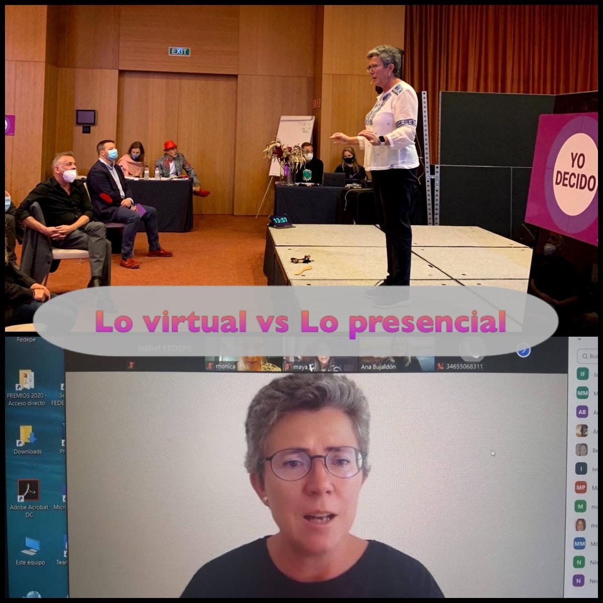 Lo virtual vs lo presencial